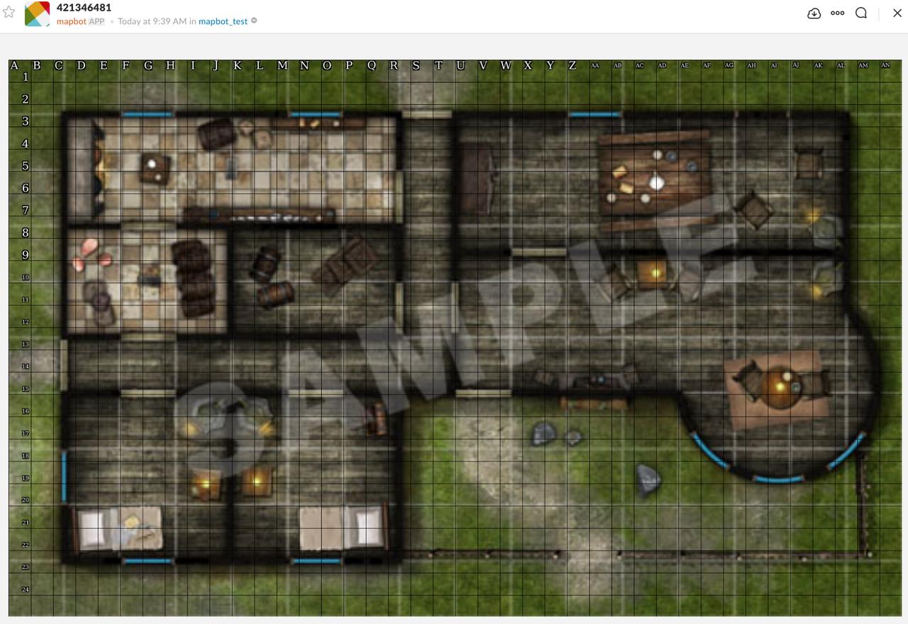 Map 50 DPI Screenshot