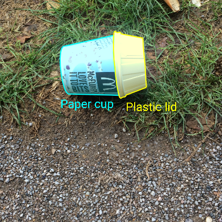A growing image dataset of waste in the wild