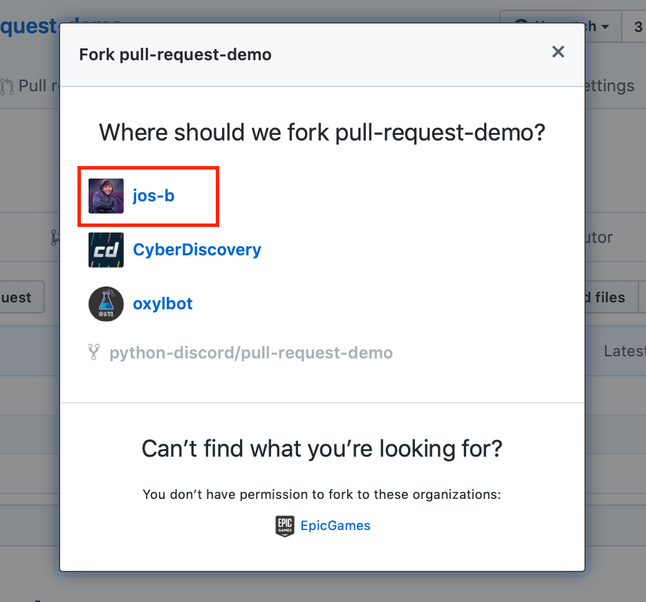 where to fork
