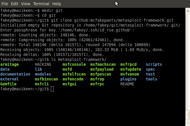 Metasploit框架安装 - c32 - c32s blog