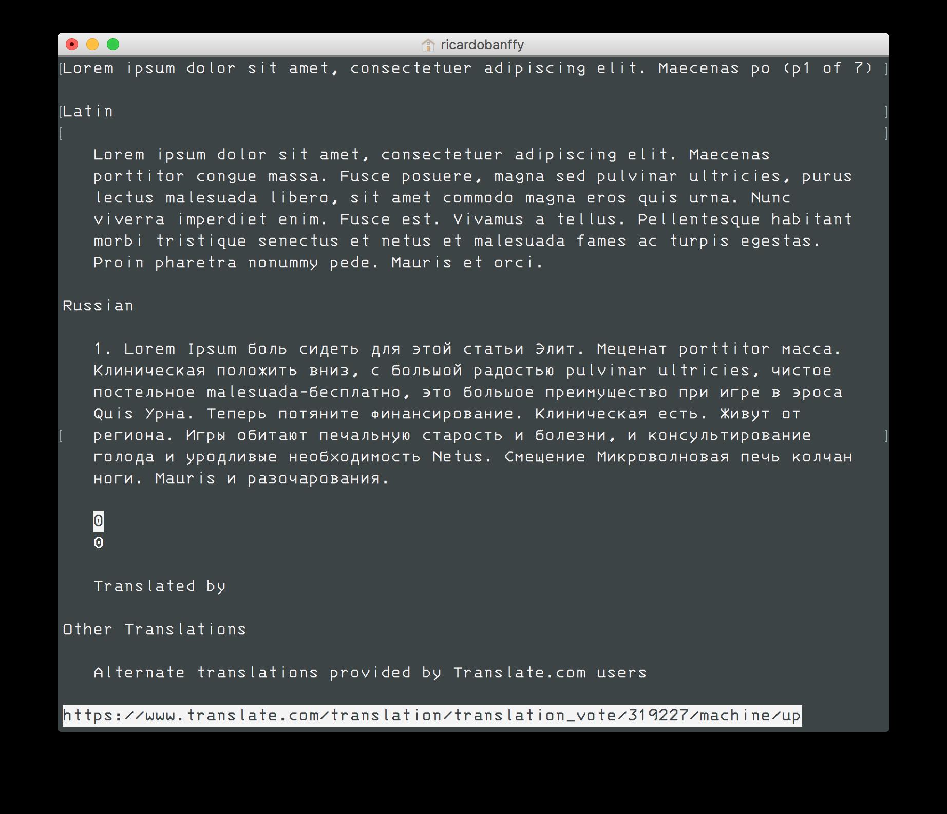 ASCII is so 60's