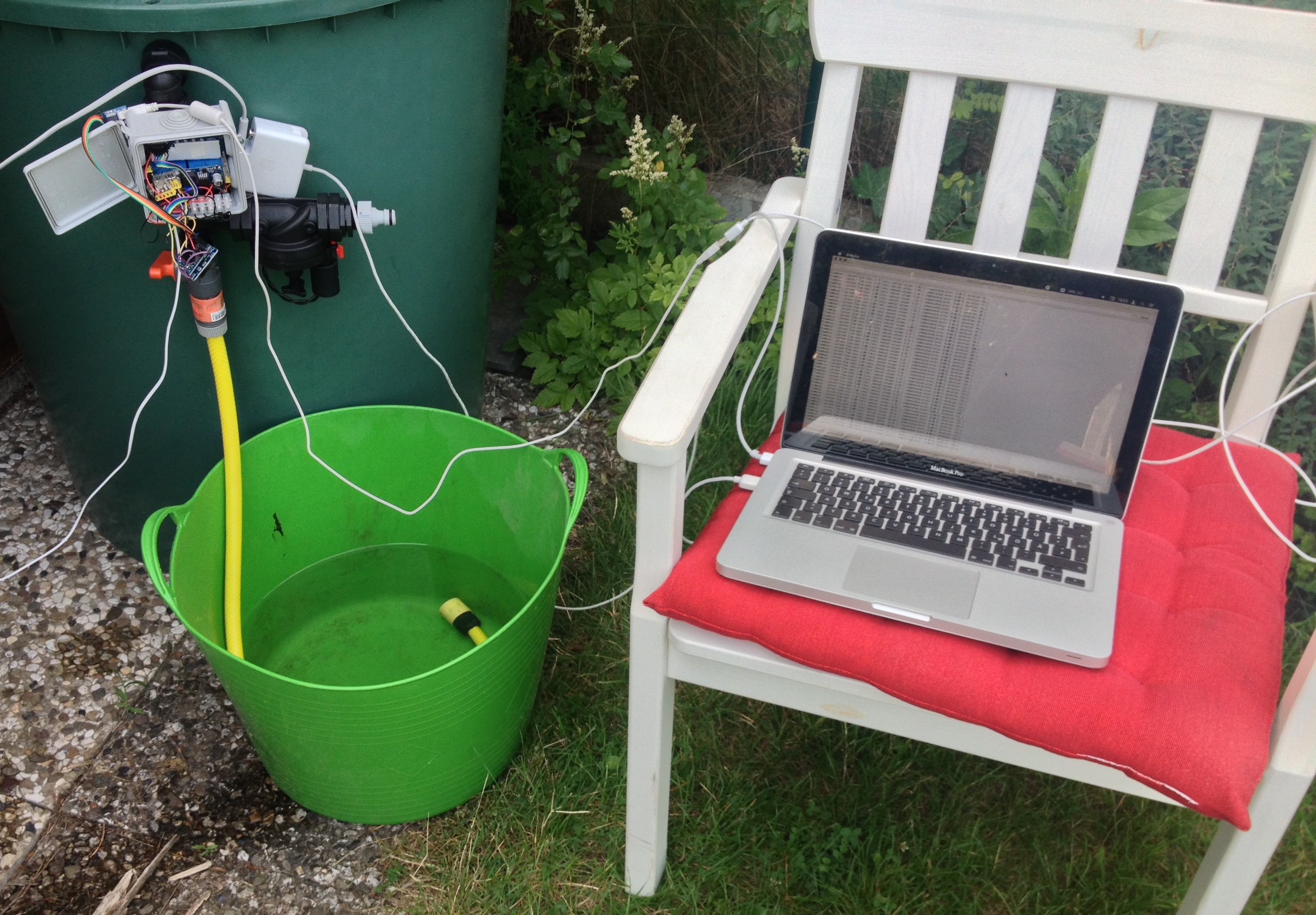 Calibration Example: Irrigation with FS400A