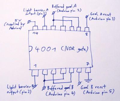 NOR circuit