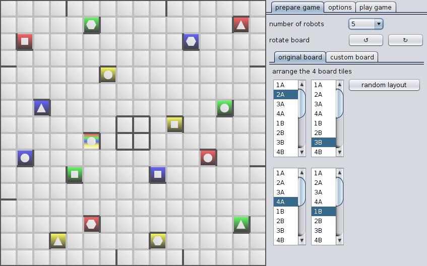 Screenshot of Prepare page