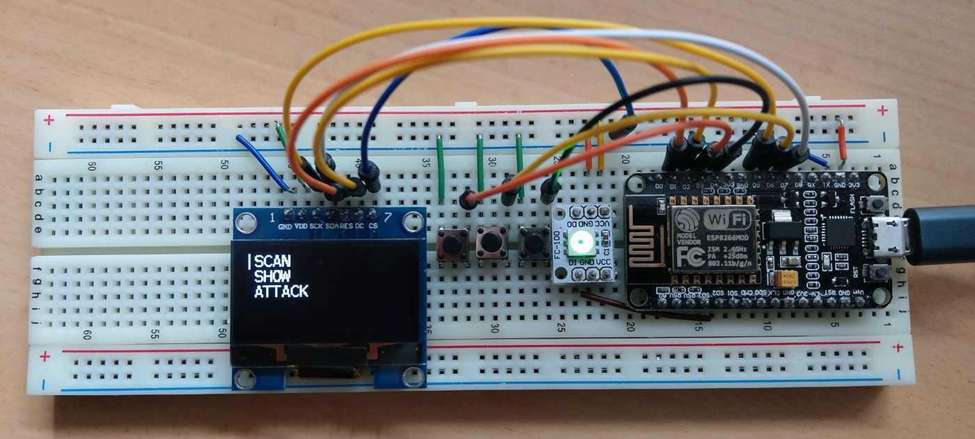 Setup Display & Buttons · spacehuhn/esp8266_deauther Wiki
