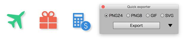 247 illustrator 快速导出选择为PNG JPG GIF图片工具 Quick-exporter.jsx 特别适合UI设计从业者 - whyeming - 老胤祥 YOU CAN, DO IT!