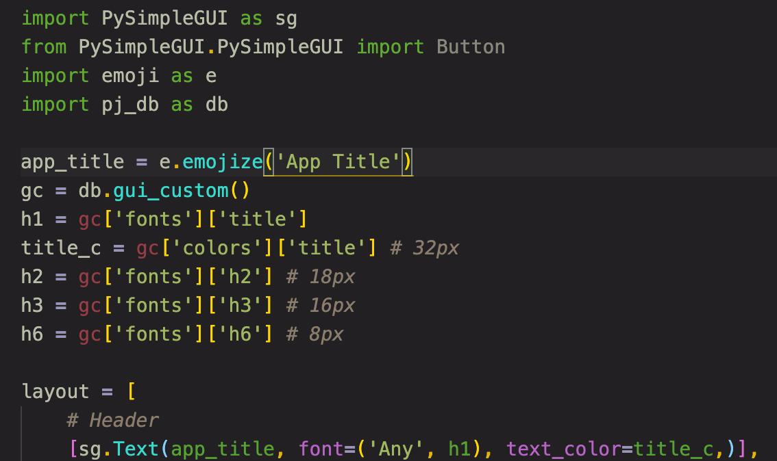 Code showing no Emoji in code. No doubling of STR