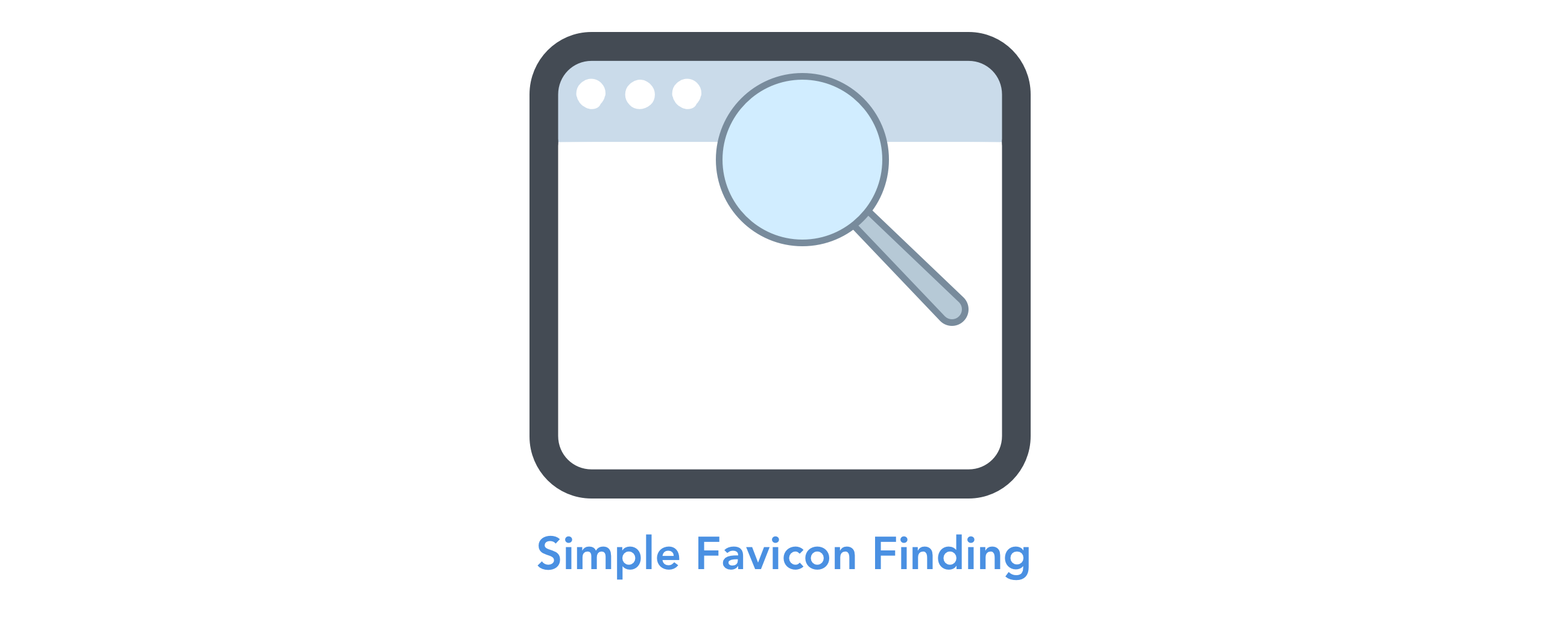 FaviconFinder: Simple Favicon Finding