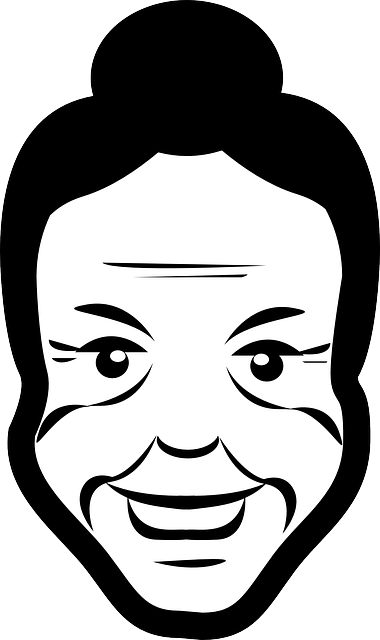 Logo of Miss-Alt project, which is a grandmother called Miss Alt