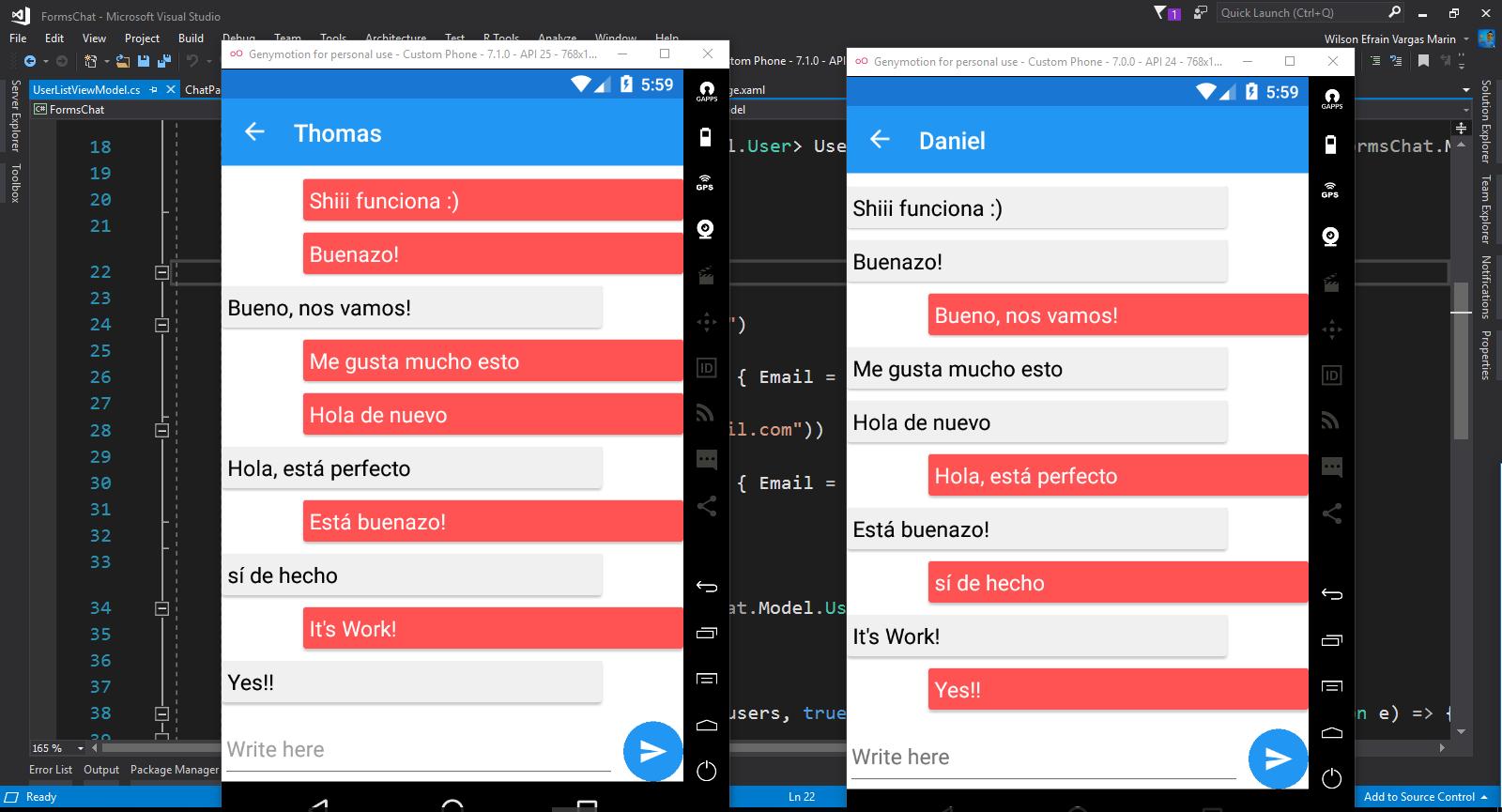 Android chat ui github windows
