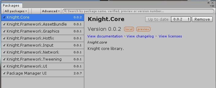 knight的框架结构