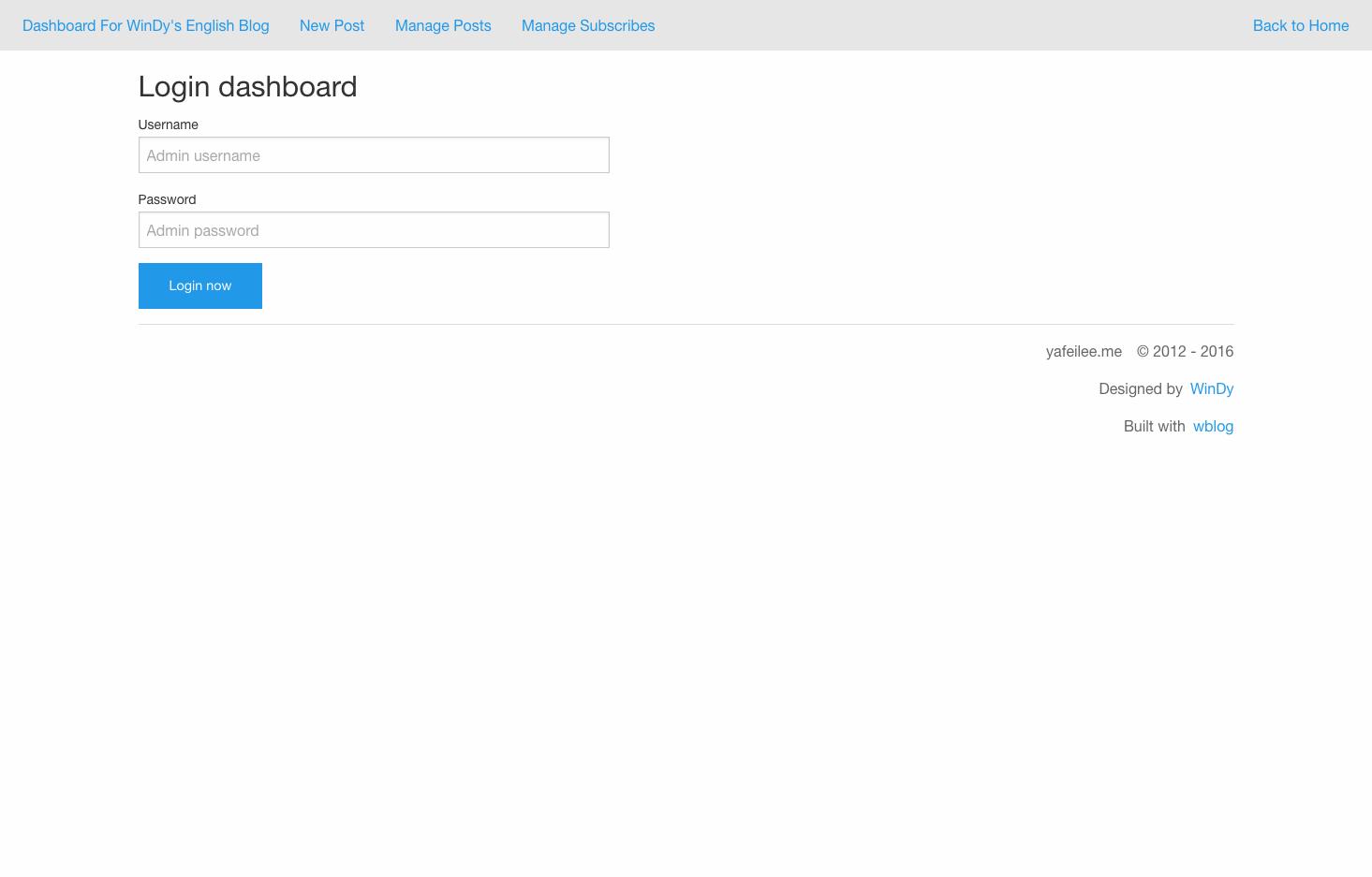screenshot admin