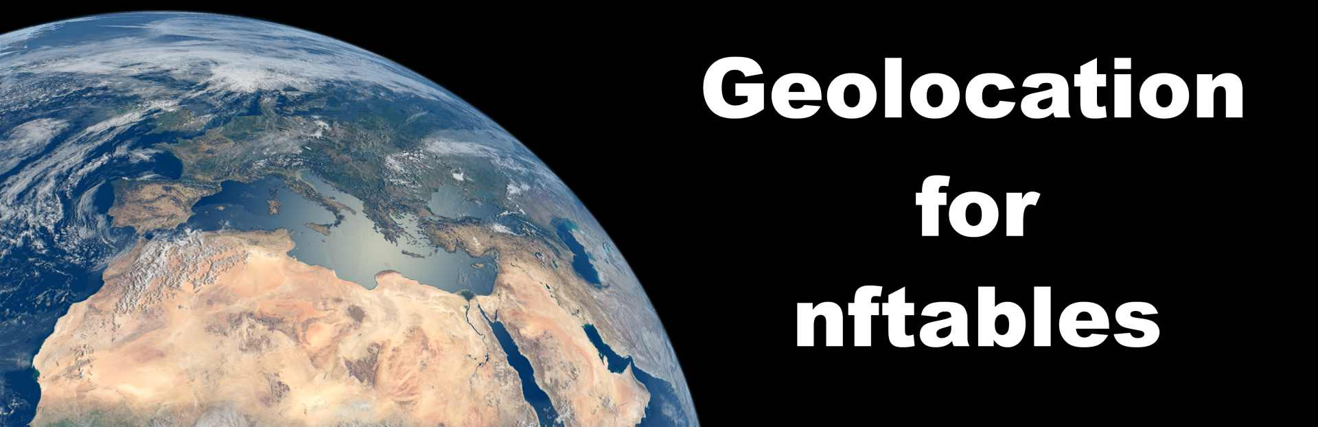 Geolocation for nftables