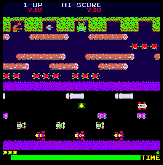 Frogger screenshot