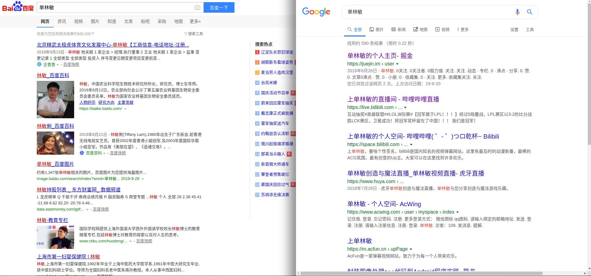 百毒_Google搜索自己