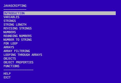 javascripting screenshot