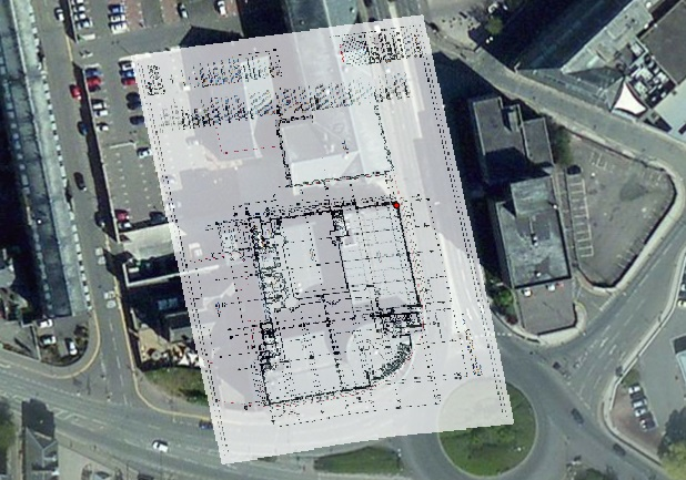Georeferenced image