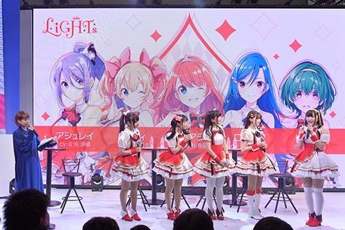2019年3月23日「AnimeJapan 2019」舞台活动/LiGHTs成员&南条爱乃(克洛伊役)