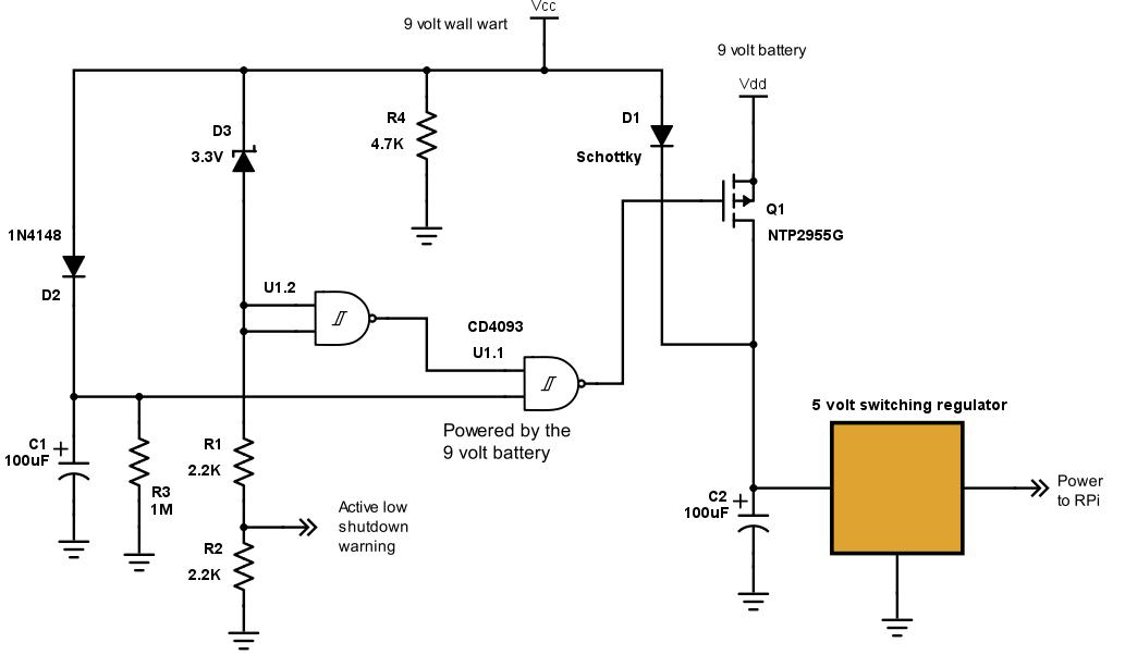 9 Volt Battery Circuit Diagram - All Diagram Schematics