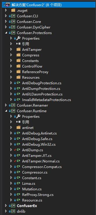 ConfuserEx项目结构