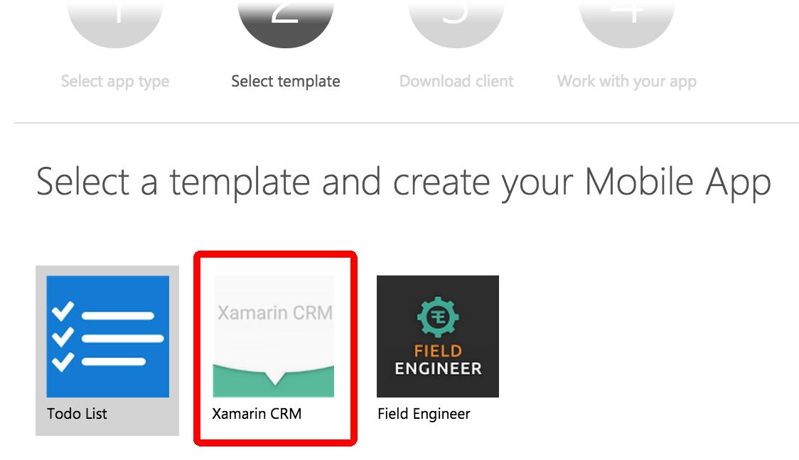 app-crm by xamarin