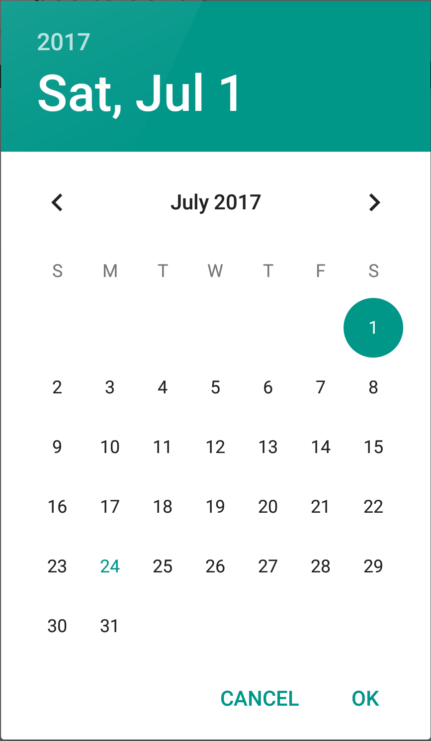 Android DatePicker in a Dialog