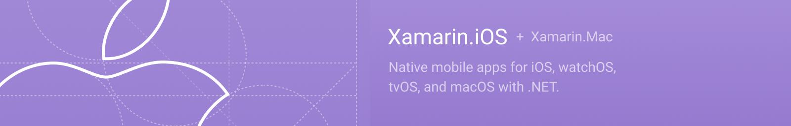 Xamarin.iOS + Xamarin.Mac logo