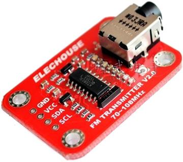 Elechouse V2.0 FM radio transmitter module