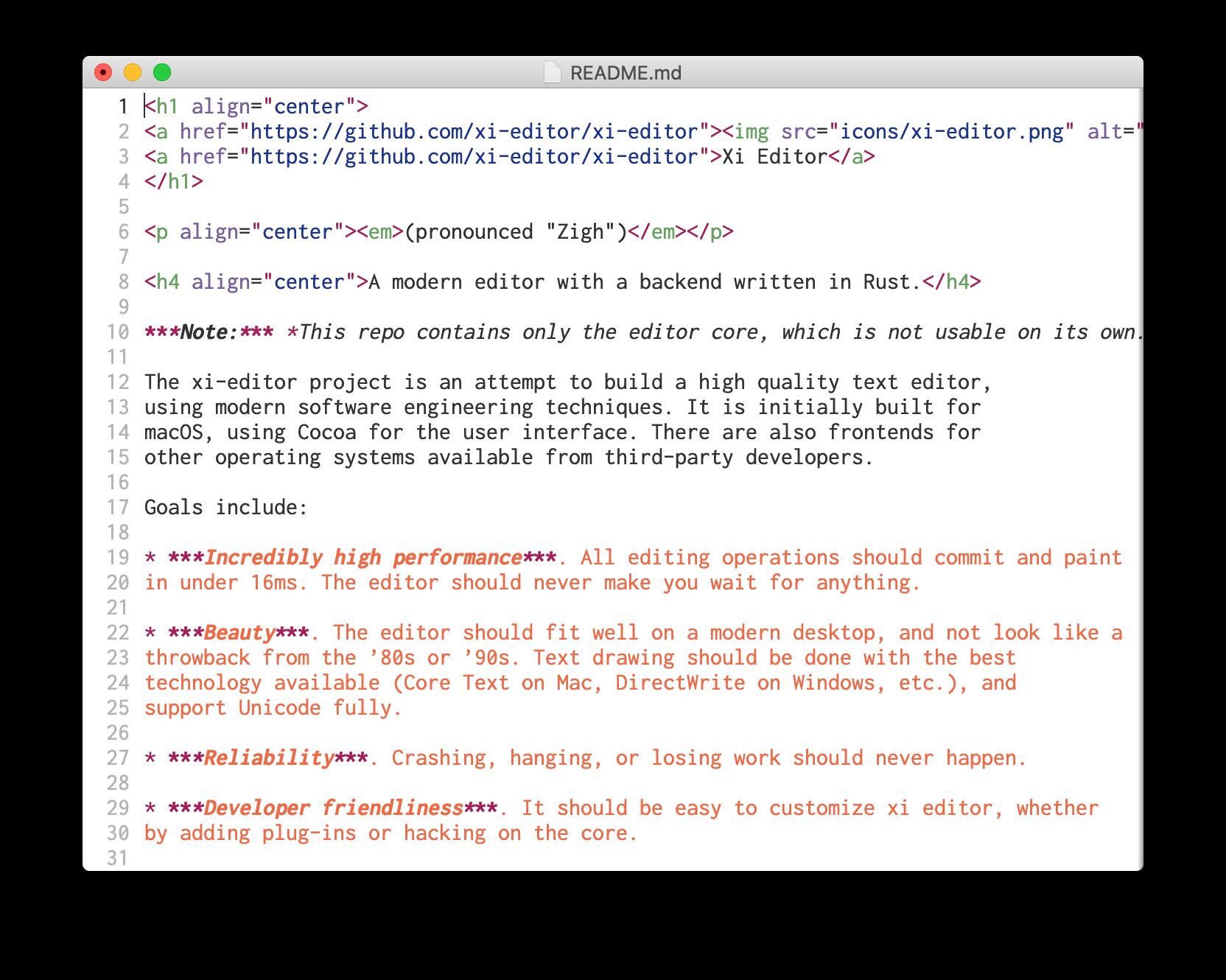 xi-mac screenshot