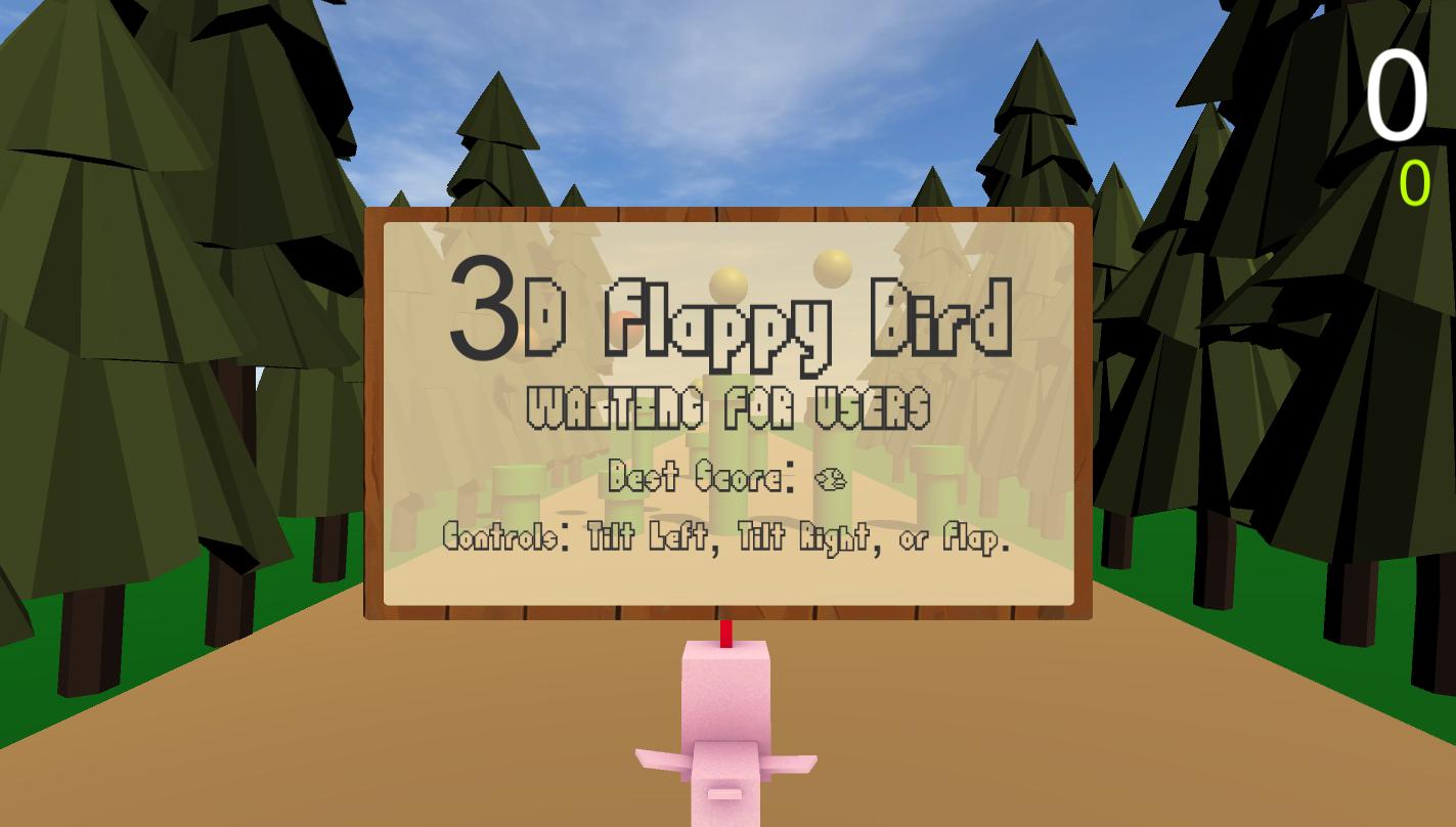 Image of game's menu