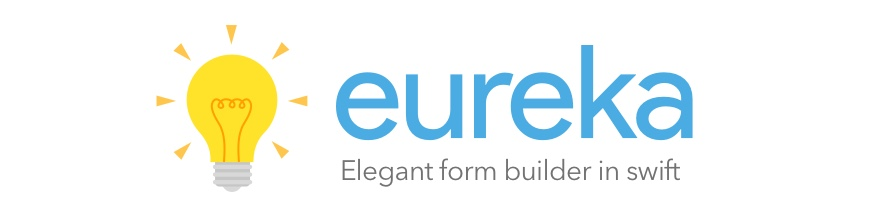 Eureka: Elegant form builder in Swift