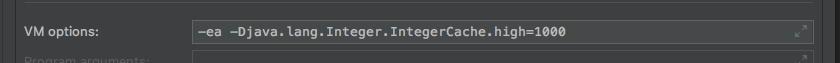 -ea -Djava.lang.Integer.IntegerCache.high=1000
