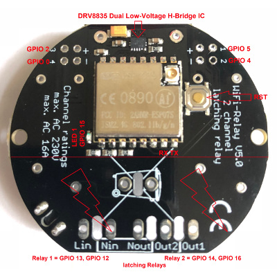 EXS Wifi Relay v5.0