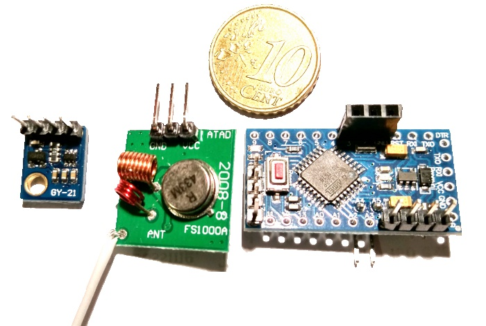 overview of the arduino temperature and hygrometric sensor