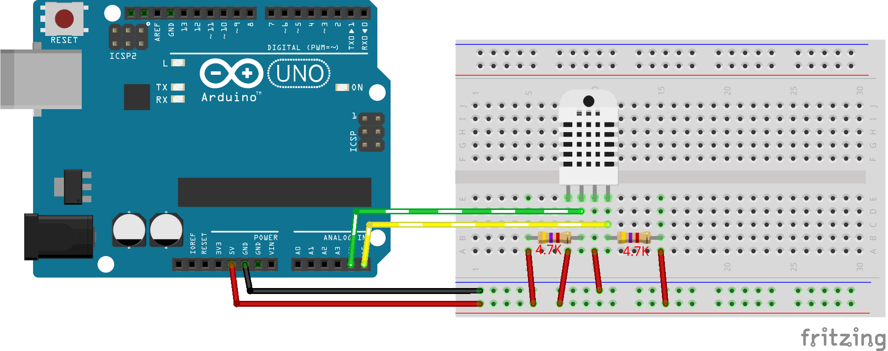 ArduinoUNO i2c