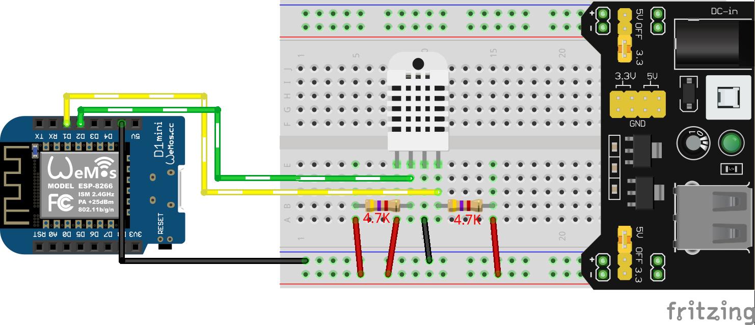 esp8266 (D1Mini) i2c