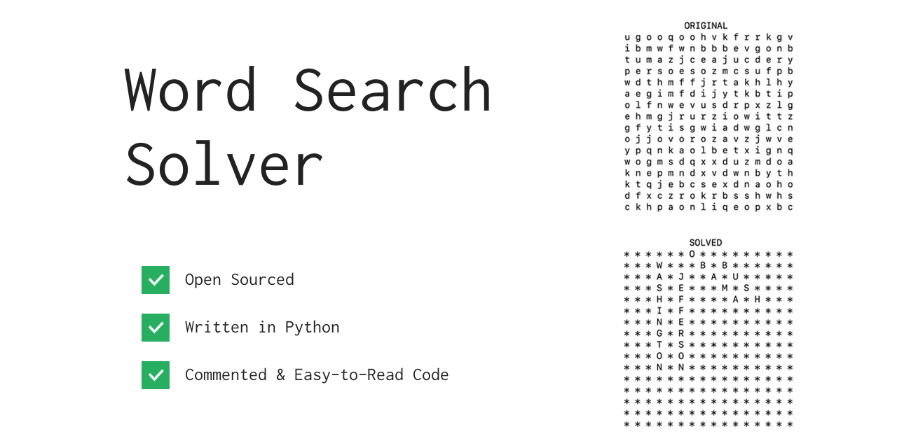 Word Search Solver Graphic