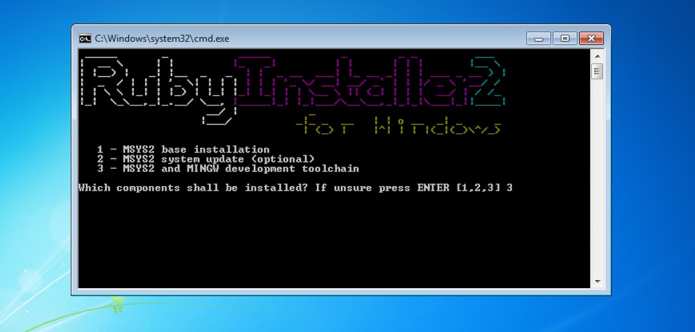 Cài đặt Ruby trên Windows macOS Ubuntu