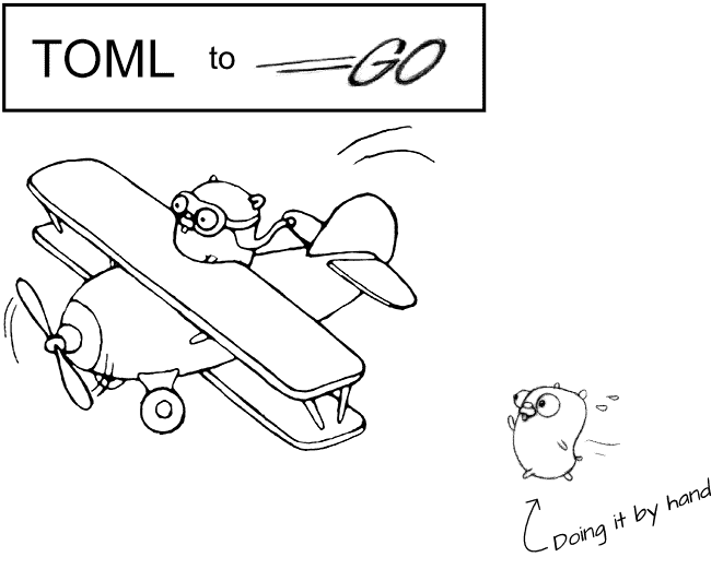 TOML-to-Go