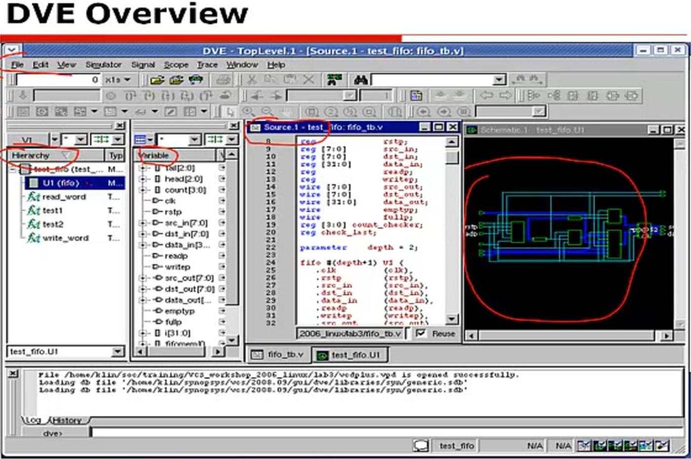 vhdl调用verilog_VCS课时3:使用DVE进行Debug - IC_workman - 博客园