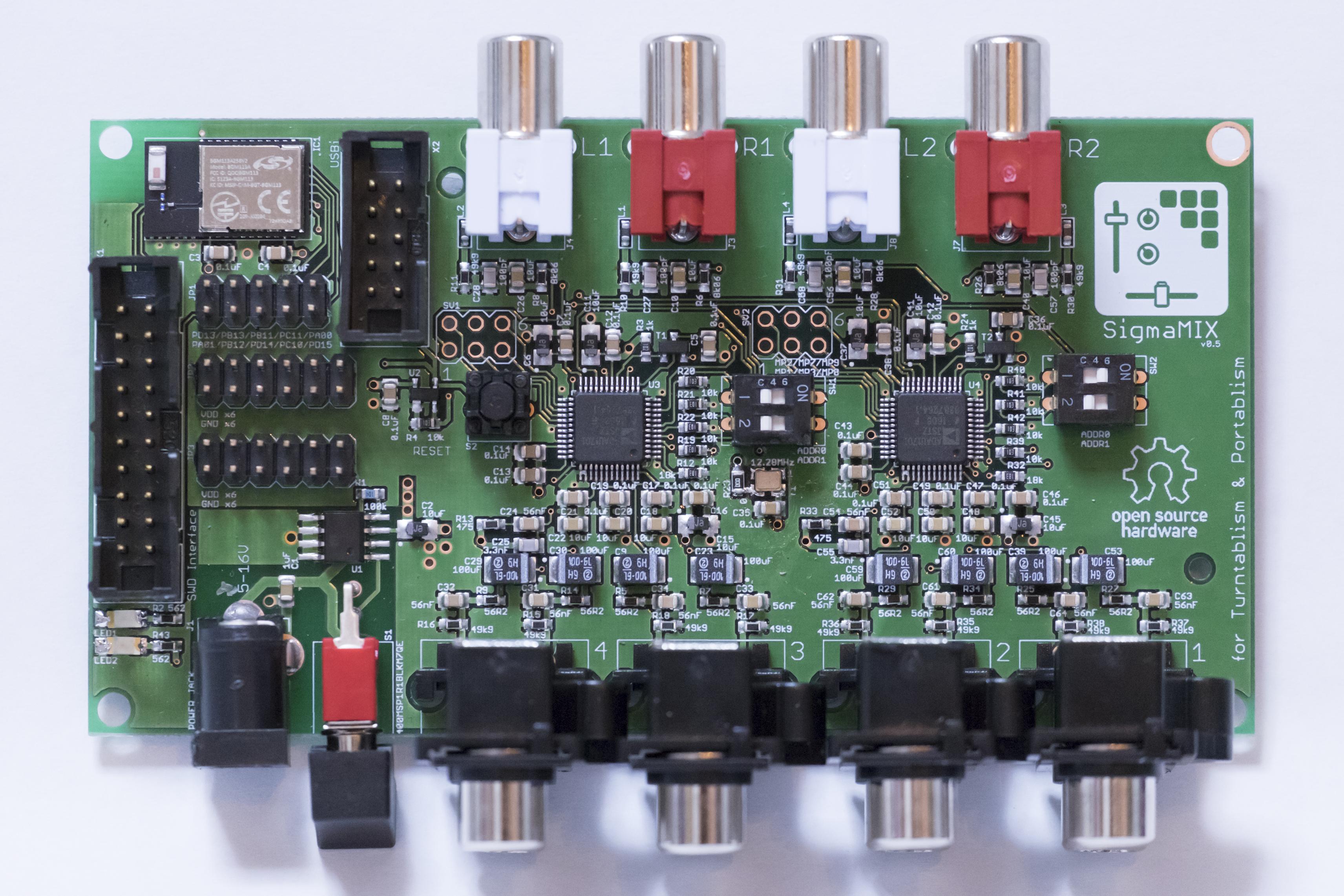 SigmaMIX PCB