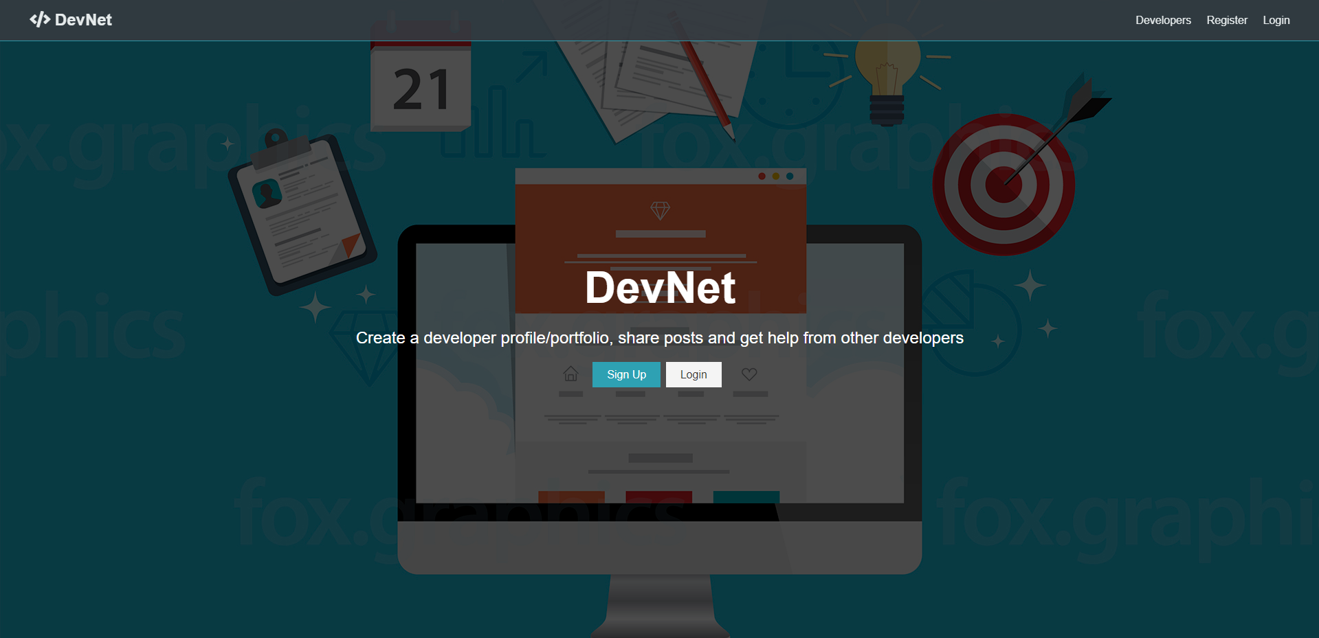 Web App Home Page