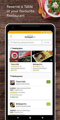 GitHub YanchummarFlipTable A Restaurant Table Reservation App - Table reserve app