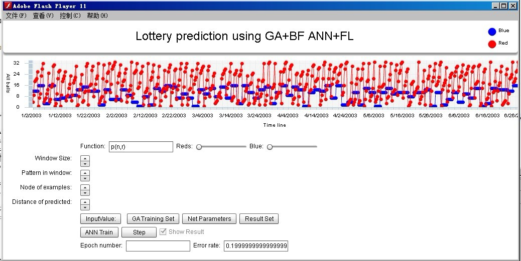"Screenshot of ""LotteryPrediction"""