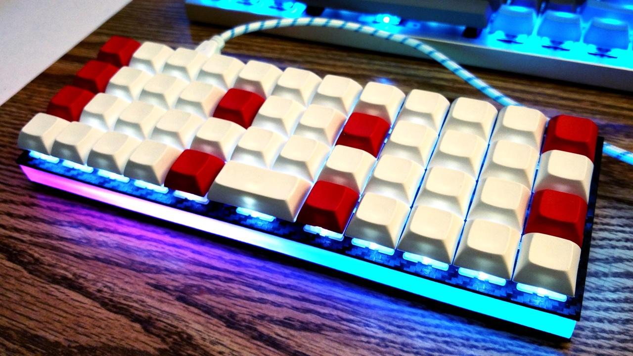 Planck with RGB Underglow