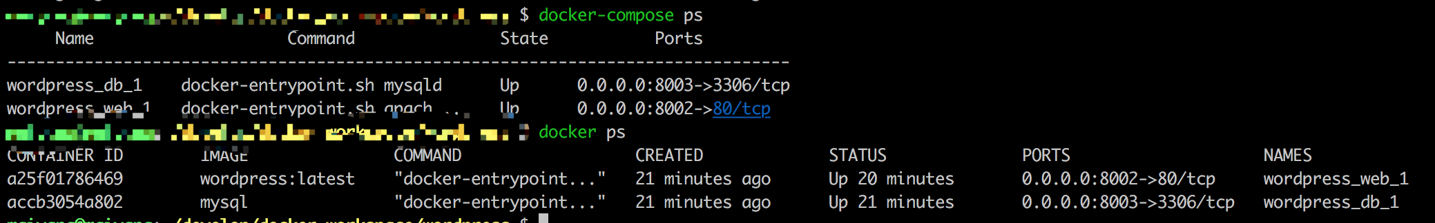 docker-compose-ps