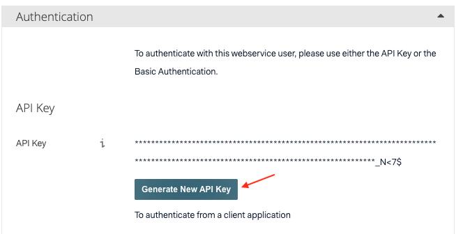 Adyen-API credentials3