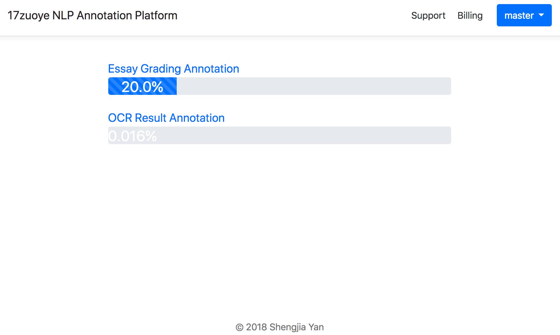 GitHub - yanshengjia/annotator: A Crowdsourcing NLP