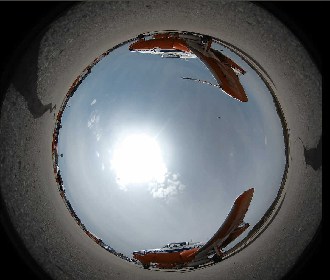 Image of fisheye poster