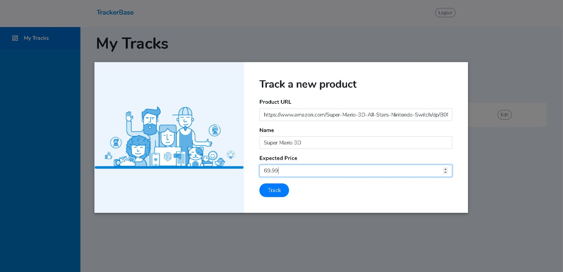 Track New Product